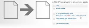 Duplicar contenidos en WordPress